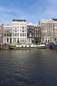 Amsterdam canal — Stock Photo