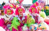 Carnival participants — Stock Photo