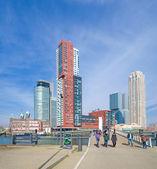 Rotterdam skyline — Stock Photo