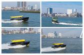 Rotterdam vodní taxi — Stock fotografie