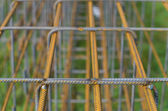 Concrete rebar — Stock Photo