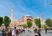 Hagia sophia mosque in istanbul — Stock Photo