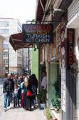 Turkish kitchen sign — Stock Photo