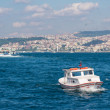 ������, ������: Boat on golden horn in Istanbul