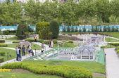 Miniaturk park in Istanbul — Stock Photo