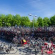 Bicycle parking — Stock Photo #50836549