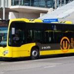 Yellow bus — Stock Photo #51144423
