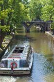 Utrecht canal — Stock Photo