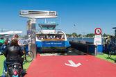 Amsterdam ferry boat — Stock Photo