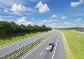 Highway in the netherlands — Stock Photo