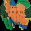 Stock Photo: Iran In Our Hands