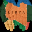 Libya In Our Hands — Stock Photo