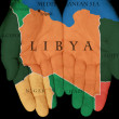 Stock Photo: Libya In Our Hands
