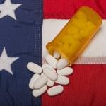 Prescription Medicine In America — Stock Photo