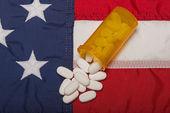 Reçeteli ilaç amerika'da — Stok fotoğraf