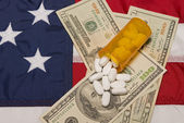 Prescription Medicine Costs In America — Stock Photo