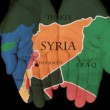 Syria In The Hands Of The — Stock Photo