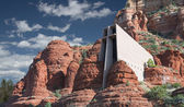 Chapel Of The Holy Cross — Stock Photo