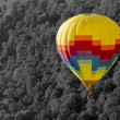 Hot Air Balloon In The Early Morning — Stock Photo