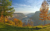 Great Bend Overlook At Letchworth State Park — Stock Photo