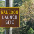Balloon Launch Site — Stock Photo