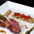 Roasted Australian Lamb with couscous — Foto de Stock