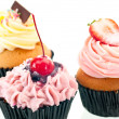 Cupcakes close up — Stock Photo