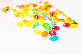 Gelatine colorate da vicino — Foto Stock