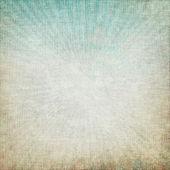 Narin ışınları tasarlamak tuval dokusu ve mavi s eski grunge arka plan — Stok fotoğraf