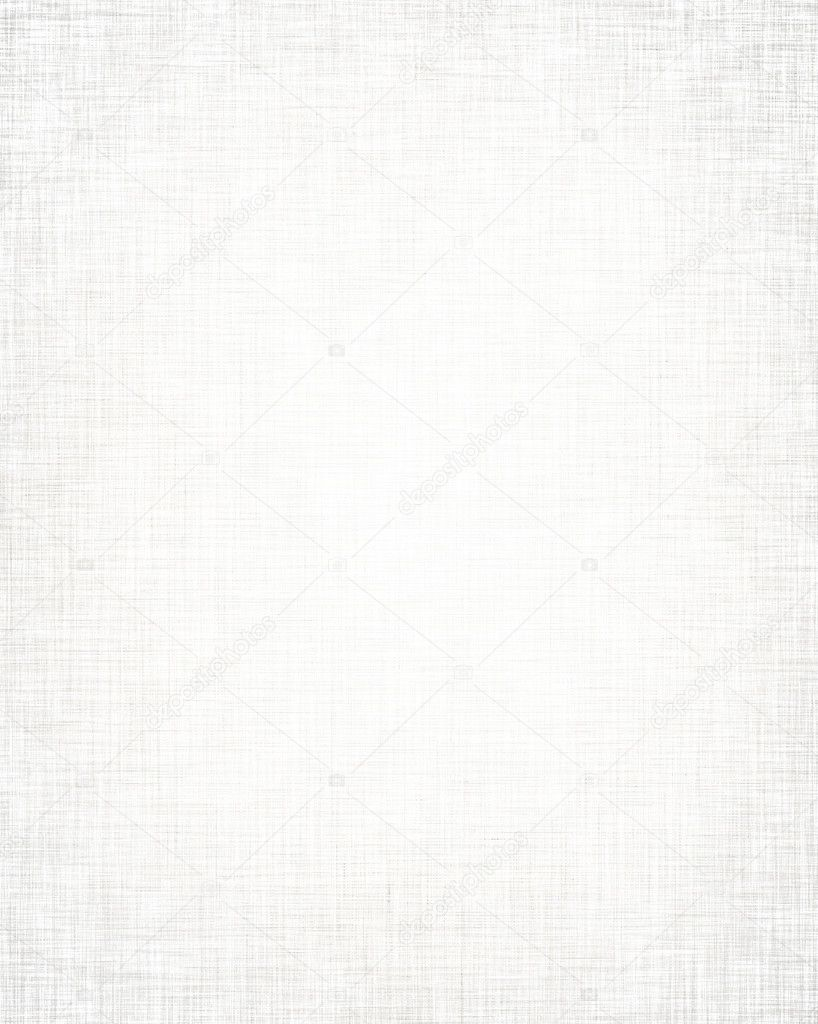White fabric background with subtle canvas texture  Stock Photo #12125074