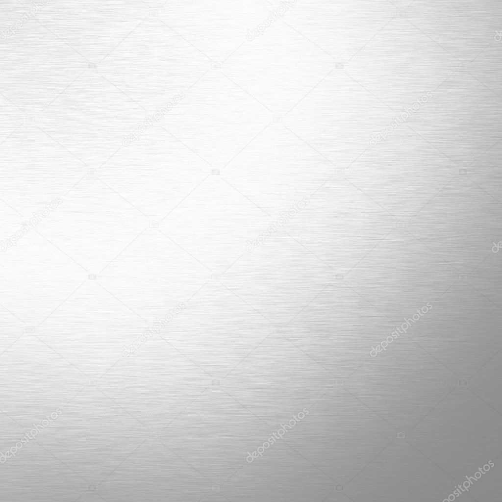 White Metal Texture Bright Background Stock Photo