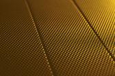 Textura de fondo metal oro abstracto con el patrón del enrejado, gradiente de la luz — Foto de Stock