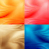 Abstract backgrounds collection with delicate pattern texture in red, yellow, coffee latte and modern blue colors, may use for new year or modern advertising — Stock Photo
