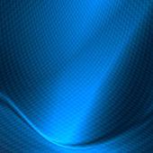 蓝色抽象背景微妙网格图案纹理 — 图库照片