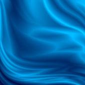 Fondo abstracto azul seda textura satinada — Foto de Stock