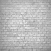 Old red brick wall texture black and white grunge background with vignetted corners of interior — Stock Photo