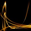 Fire lighting effects modern shapes — Stock Photo #25383053