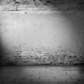 Dark brick wall texture — Stockfoto