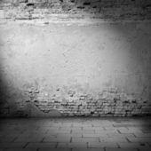 黑砖墙壁纹理 — 图库照片
