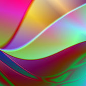 Rainbow abstract background metallic plates — Stock Photo