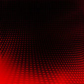 Black background and red abstract texture grid pattern — Stock Photo