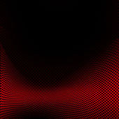Black and red grid pattern — Stock Photo