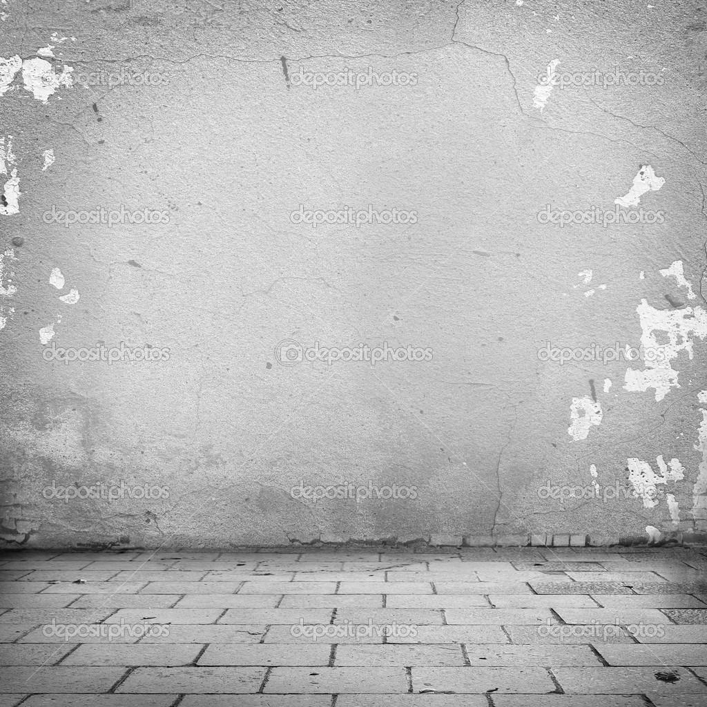 fond grunge trottoir de mur blanc texture et blocs de route abandonn e ext rieur fond urbain. Black Bedroom Furniture Sets. Home Design Ideas