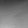 Silver background metal texture and decorative grid pattern, glossy steel grain texture — Stock Photo
