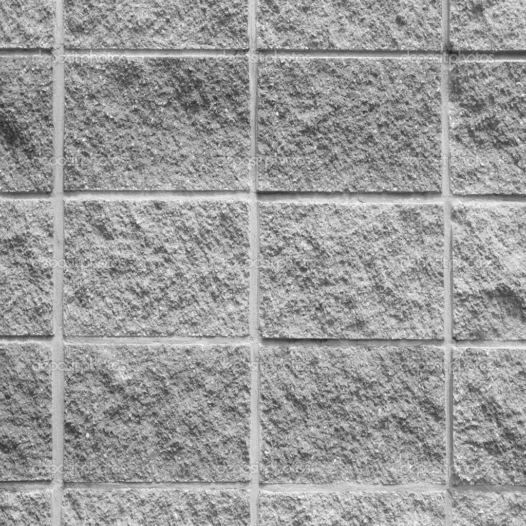Fondo gris de la textura de la pared de ladrillo concreto - Ladrillos de hormigon ...