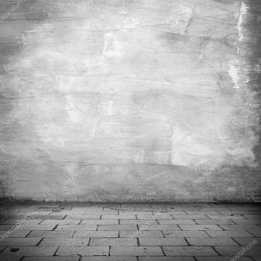 Grunge background white plaster wall texture gray for Exterior background