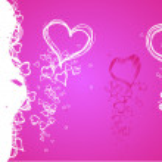 Valentine fresh background — Stock Vector #8782747