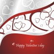 Beautiful Valentine´s day background — Stock Vector #8856510