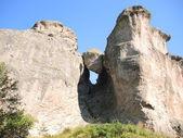 Katadjov stone. The stone of Karadja. Karadjov Boulder. — Stock Photo