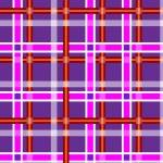 fondo transparente púrpura oscuro moteado con rayas rojas y luz púrpuras — Vector de stock